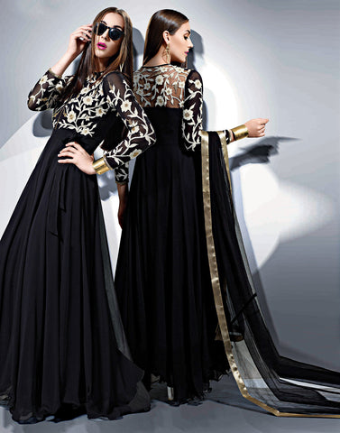 Black Color Salwar Kameez
