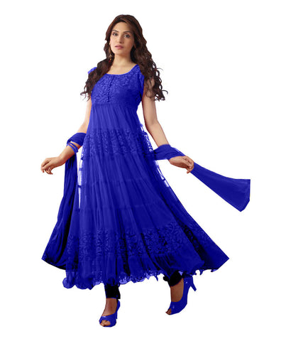 Blue Color Brasso Fashionic Party Dress