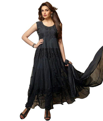 Black Color Brasso Fashionic Party Dress