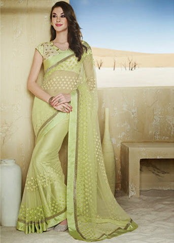 Adorable Asthetic Designer Saree