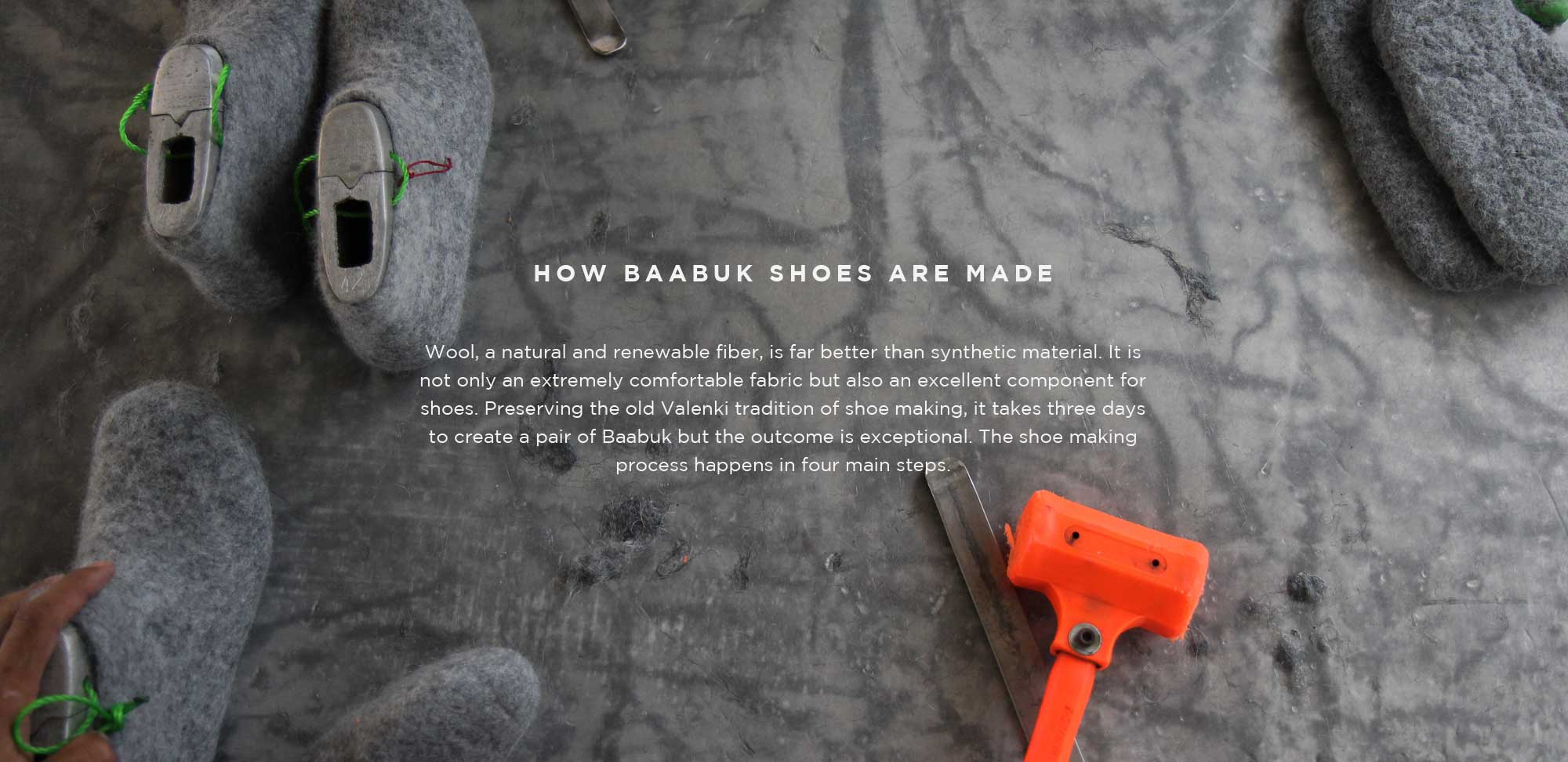 Making of Baabuk Shoes