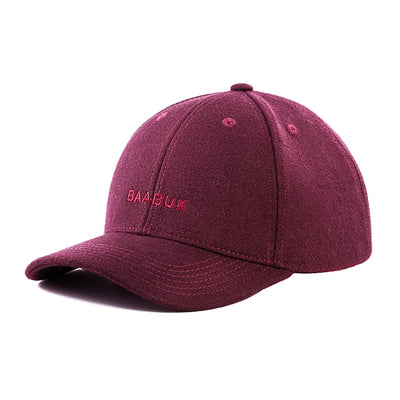 Wool Hats - Bordeaux
