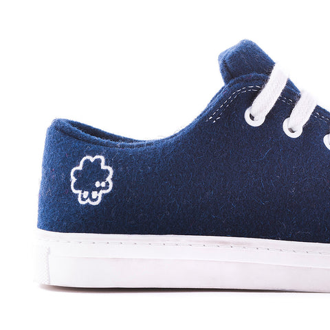 Sneaker - Dark Blue - Baabuk wool footwear