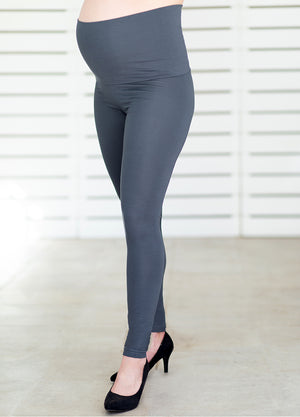 ComfiMum Leggings – Charcoal