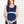 Hi-Lo Maternity Dress - Navy&Duckegg - Lonzi&Bean Maternity