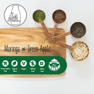 Mrs Milk Lactation Oat Bar - Moringa & Green Apple (10 Pack) - Lonzi&Bean Maternity