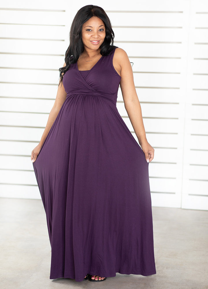 MaxiMum Dress - Indigo - Lonzi&Bean Maternity