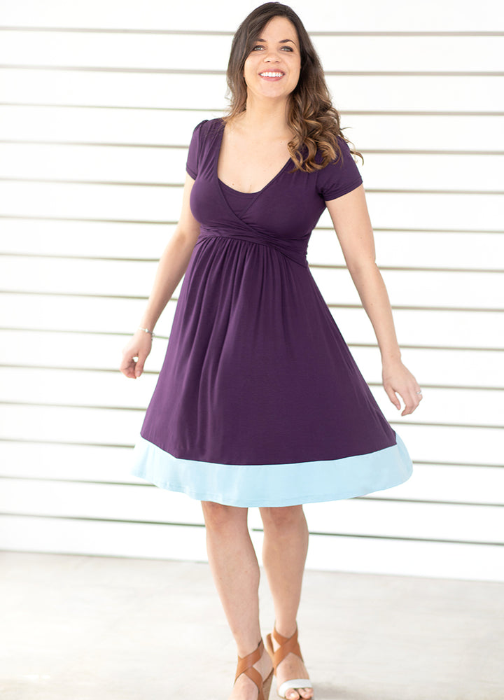 UltiMum Dress Indigo-Duckegg