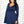 UltiMum Maternity & Feeding Dress Long Sleeved - Navy&Vanilla - Lonzi&Bean Maternity
