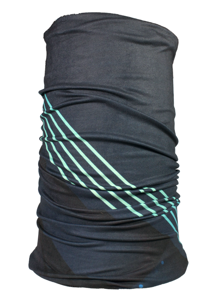 Printed Buff - Navy Teal Stripe - Lonzi&Bean Maternity