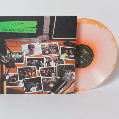 You Were Never Alone - Orange Vinyl