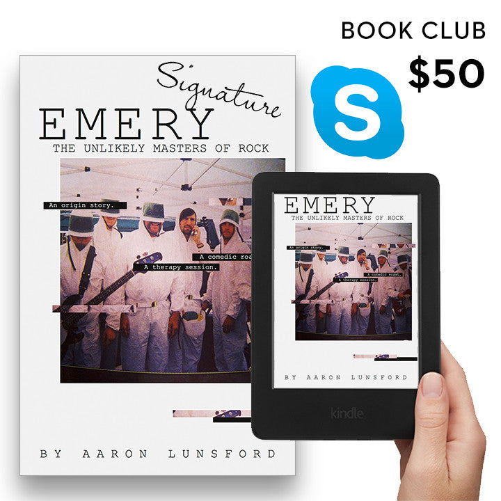 Emery: The Unlikely Masters of Rock - Book Club