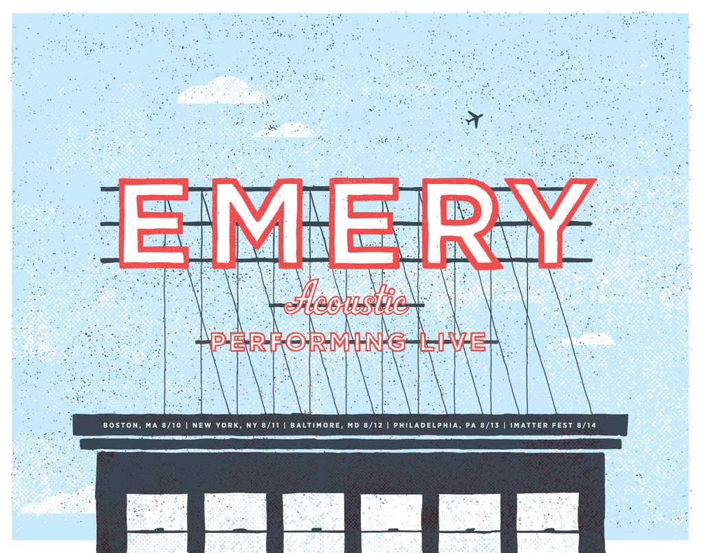 Emery Acoustic: Poster Bundle