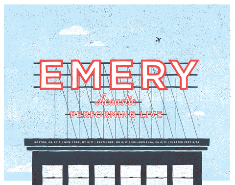 Emery Acoustic: Northeast Poster