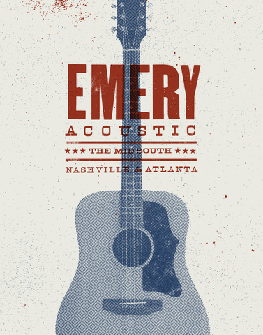Emery Acoustic: Mid South Poster