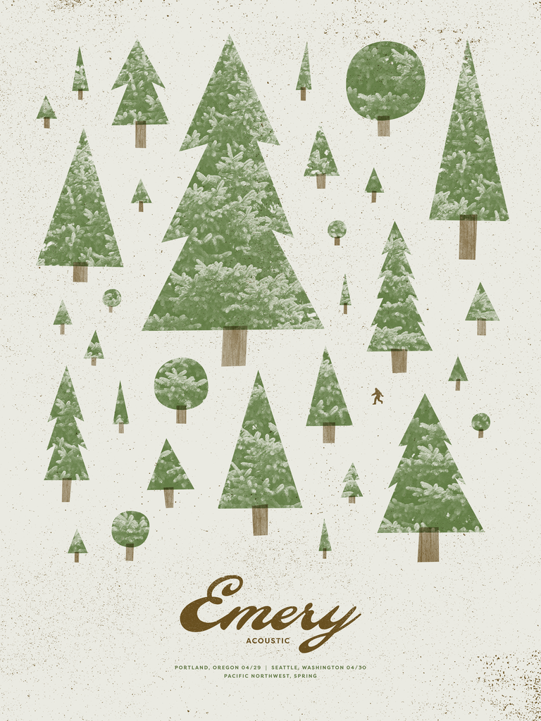 Emery Acoustic: PNW Poster