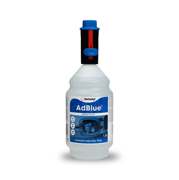 AdBlue® 1.5 litre<br><p>Handy Refill Size<br>Keep in the boot of your car
