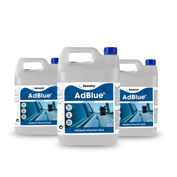 AdBlue® 4.7 litre<br><p>Perfect for mid size vehicles<br>or average mileage drivers