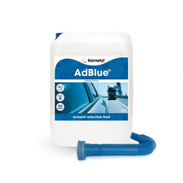 AdBlue® 10 litre<br><p>Perfect for larger diesel vehicles<br>or high mileage drivers