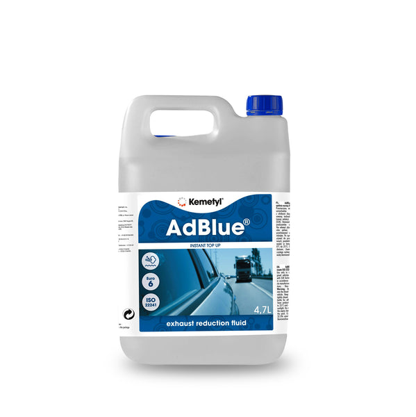 Adblue 4.7litre bottle for diesel cars & vans