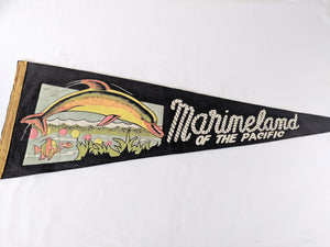 Marineland of the Pacific Vintage Pennant