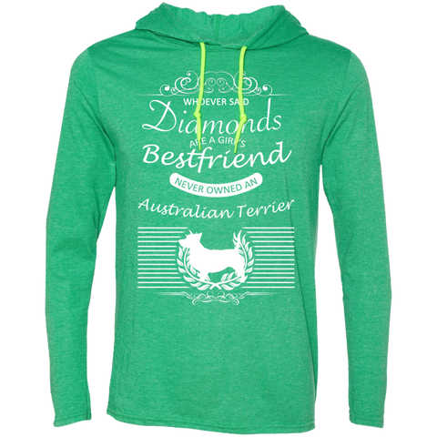 Whoever Said Diamonds Are A Girls Best Friend Never Owned An Australian Terrier Tee Shirt Hoodies