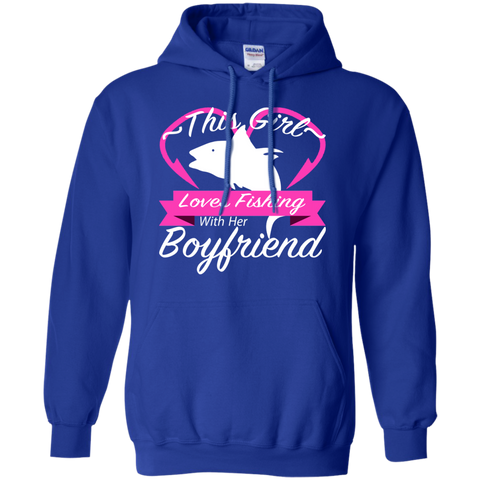 This Girl Loves Fishing With Her Boyfriend Hoodies