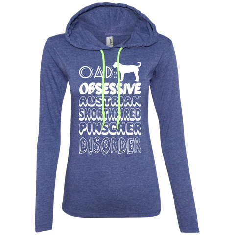 OAD Obsessive Australian Shorthaired Pinscher Disorder Ladies Tee Shirt Hoodies