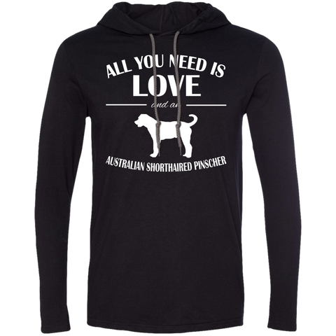 All You Need Is Love And An Australian Shorthaired Pinscher Tee Shirt Hoodies