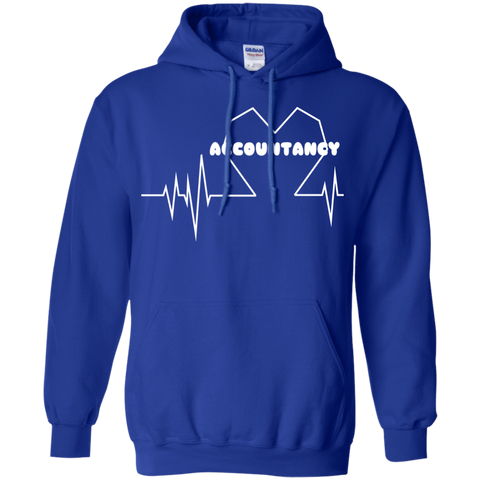 Accountancy Heartbeat Hoodies