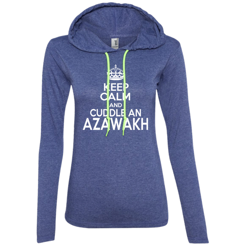 Keep Calm And Cuddle An Azawakh Ladies Tee Shirt Hoodies