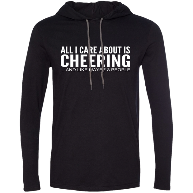 All I Care About Is Cheering And Like Maybe 3 People Tee Shirt Hoodies