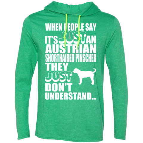 When People Say Just An Australian Shorthaired Pinscher They Just Dont Understand Tee Shirt Hoodies