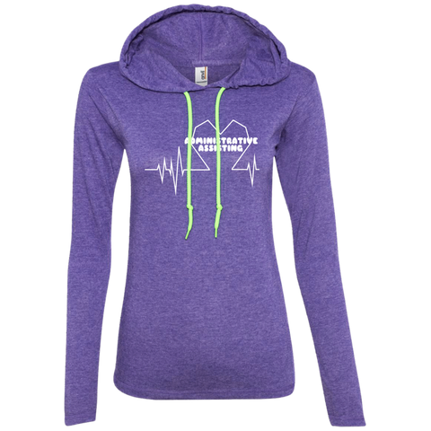Administrative Assistting Heartbeat Ladies Tee Shirt Hoodies