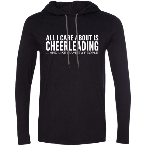 All I Care About Is Cheerleading And Like Maybe 3 People Tee Shirt Hoodies