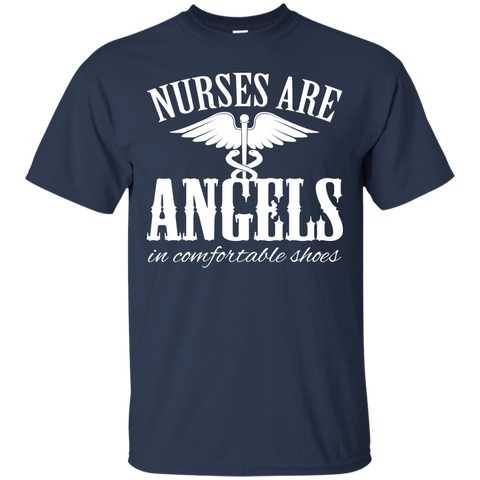 Nurses Are Angels In Comfortable Shoes Tee