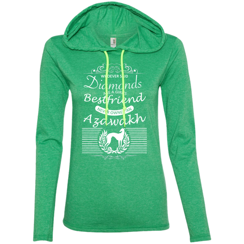 Whoever Said Diamonds Are A Girls Best Friend Never Owned An Azawakh Ladies Tee Shirt Hoodies
