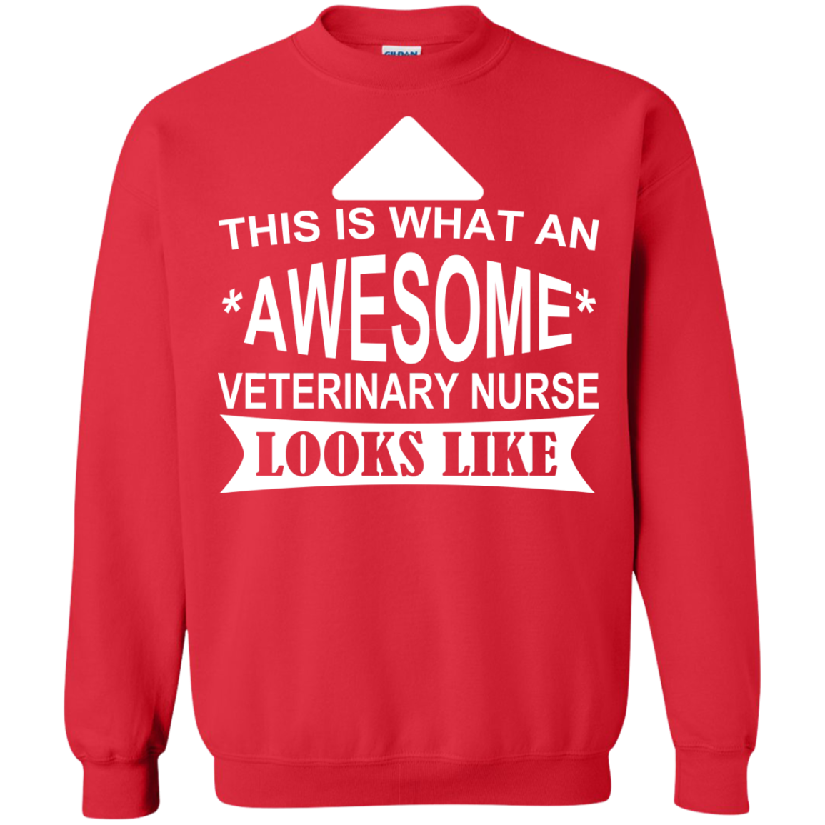 This Is What An Awesome Veterinary Nurse Looks Like Sweatshirts