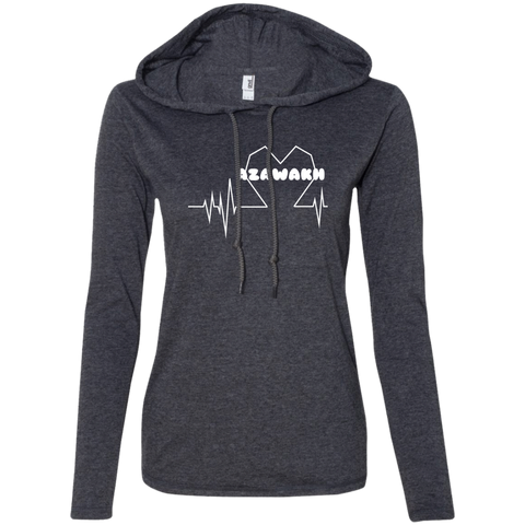 Azawakh Heartbeat Ladies Tee Shirt Hoodies