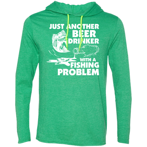 Just Another Beer Drinker With A Fishing Problem Tee Shirt Hoodies