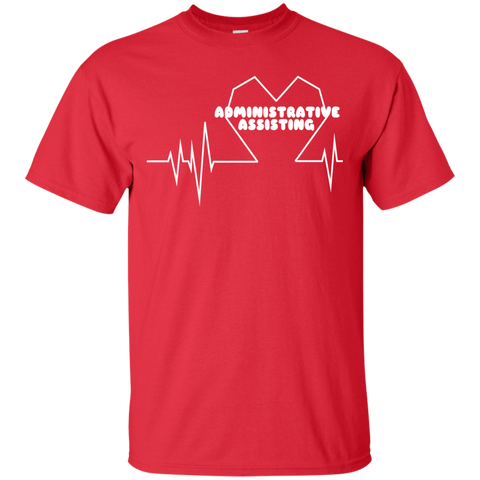 Administrative Assistting Heartbeat Tee