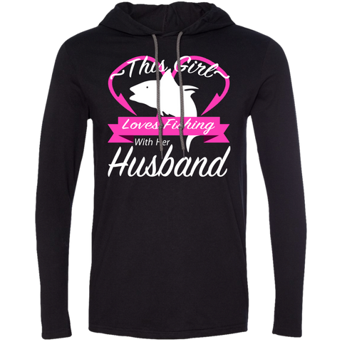 This Girl Loves Fishing With Her Husband Tee Shirt Hoodies