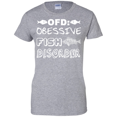 OFD Obsessive Fish Disorder Ladies Tees