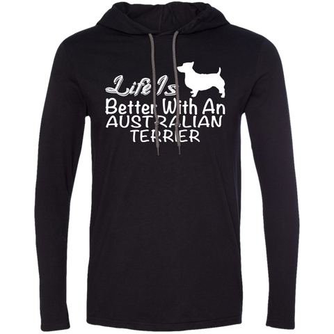 Life Is Better With An Australian Terrier Tee Shirt Hoodies