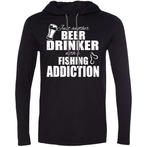 Just Another Beer Drinker With A Fishing Addiction Tee Shirt Hoodies