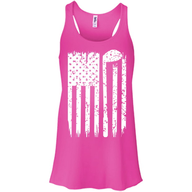 Golf Flag Flowy Racerback Tanks