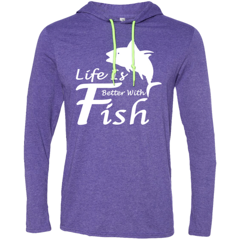 Life Is Better With A Fish Tee Shirt Hoodies