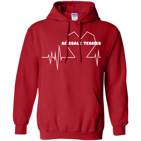 Airedale Terrier Heartbeat Hoodies