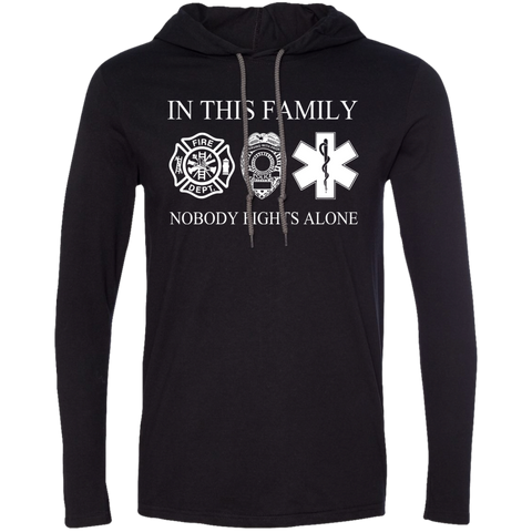 In This Family Nobody Fights Alone Tee Shirt Hoodies