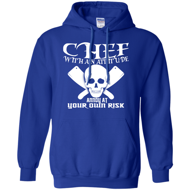 Chef With An Attitude Annoy At Your Own Risk Hoodies